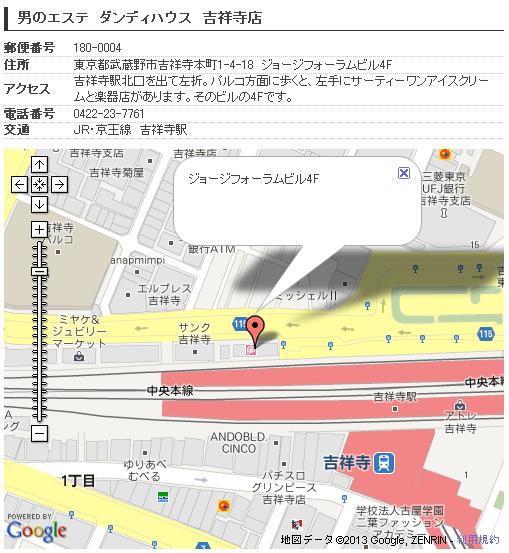 ダンディハウス吉祥寺店